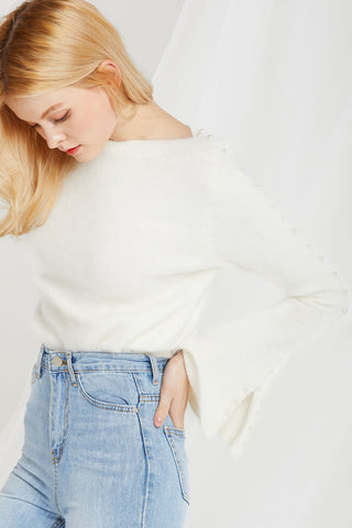 Ellery Soft Pearly Sweater