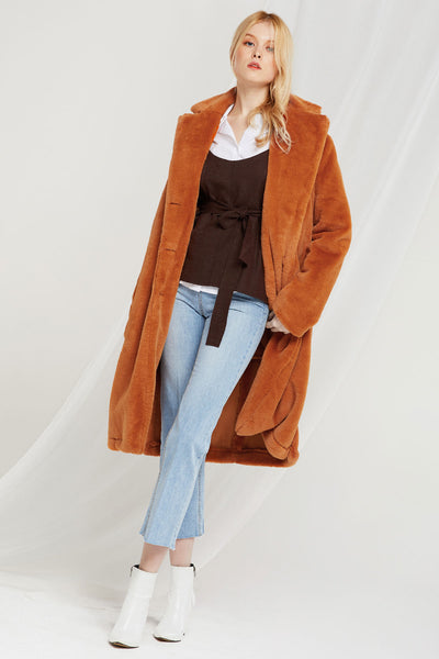 Gia Fuzzy Coat-2 Colors