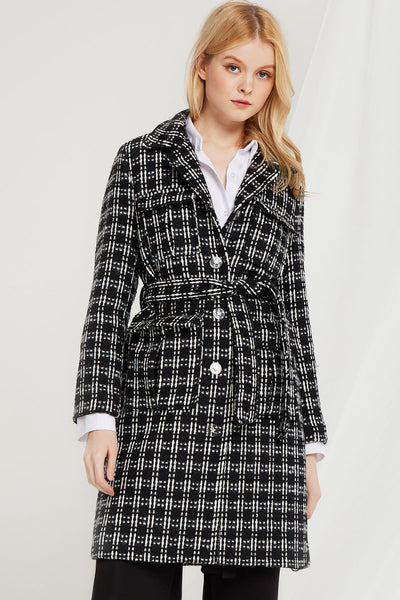 Mabel Criss Cross Coat