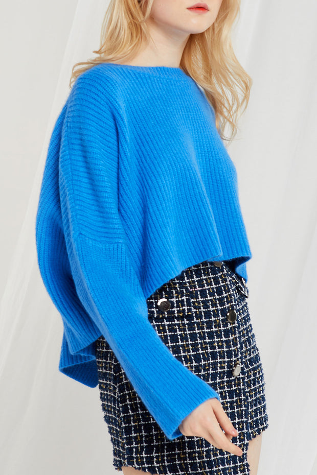 Gemma Crossed Back Sweater