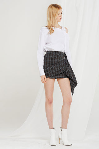 Colette Pinned And Draped Skirt
