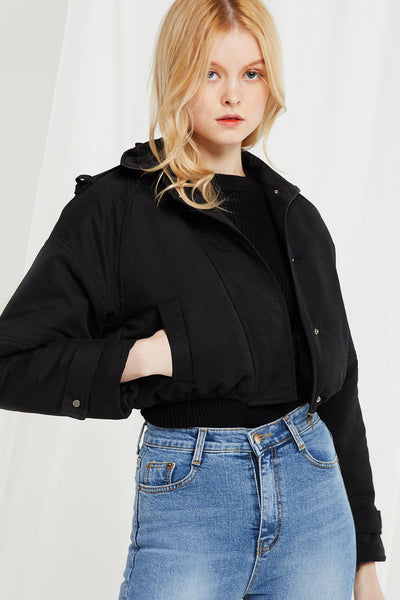 Kathleen Cropped Padded Jacket