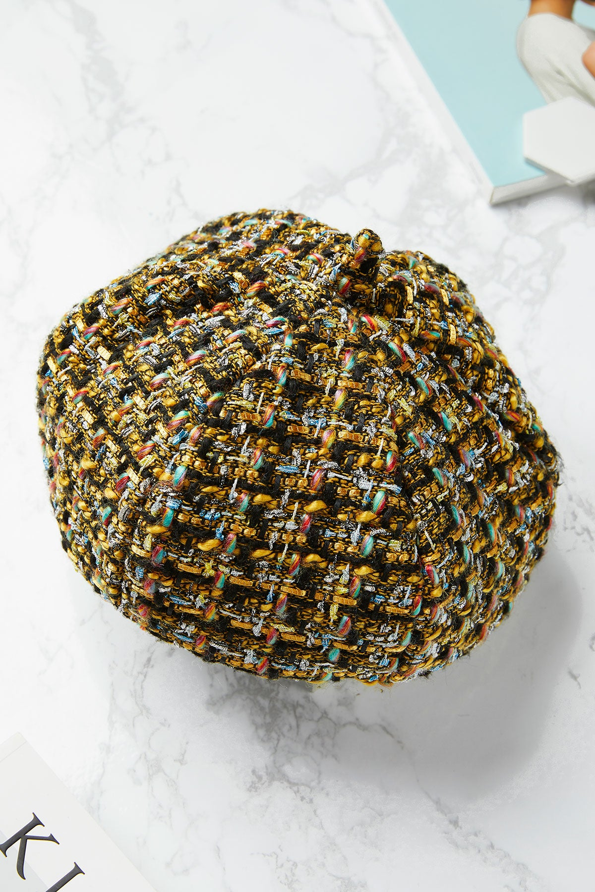 Tweed Multi-Hue Beret