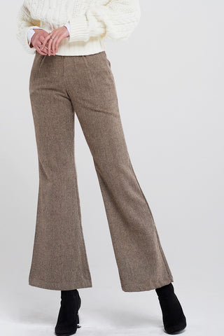 Tamia Herringbone Long Pants