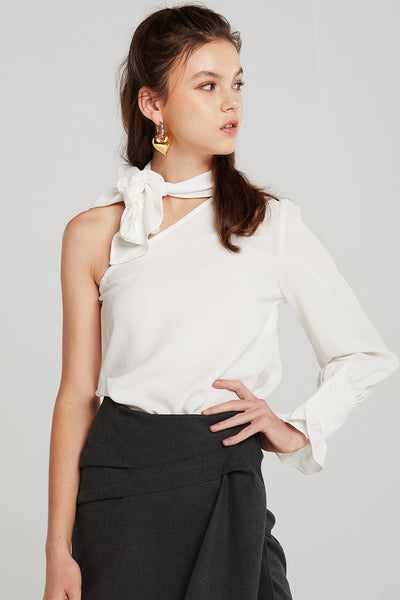 Angie One Shoulder Blouse