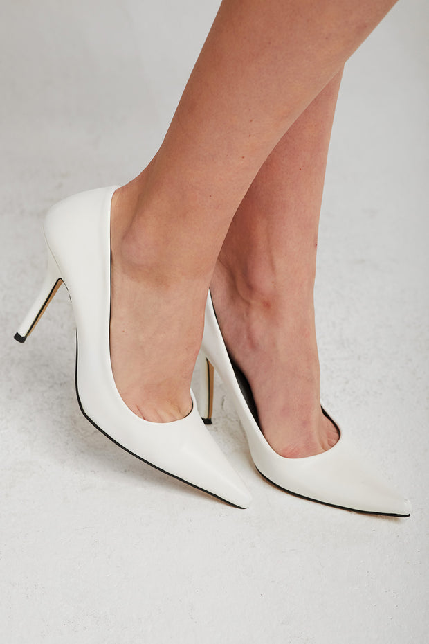 Long Pointed Toe Stiletto Heels