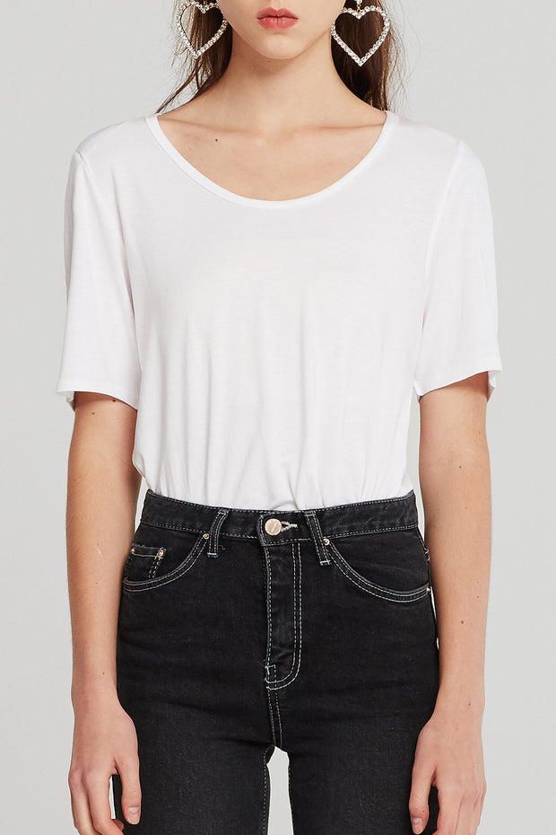 Selene Scoop Neck T-shirt