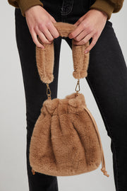 Fuzzy Faux Fur Bag