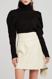 Kendall Puff Sleeve Knit Top