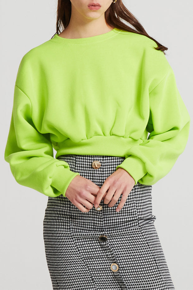 Amy Cropped Sweat Top