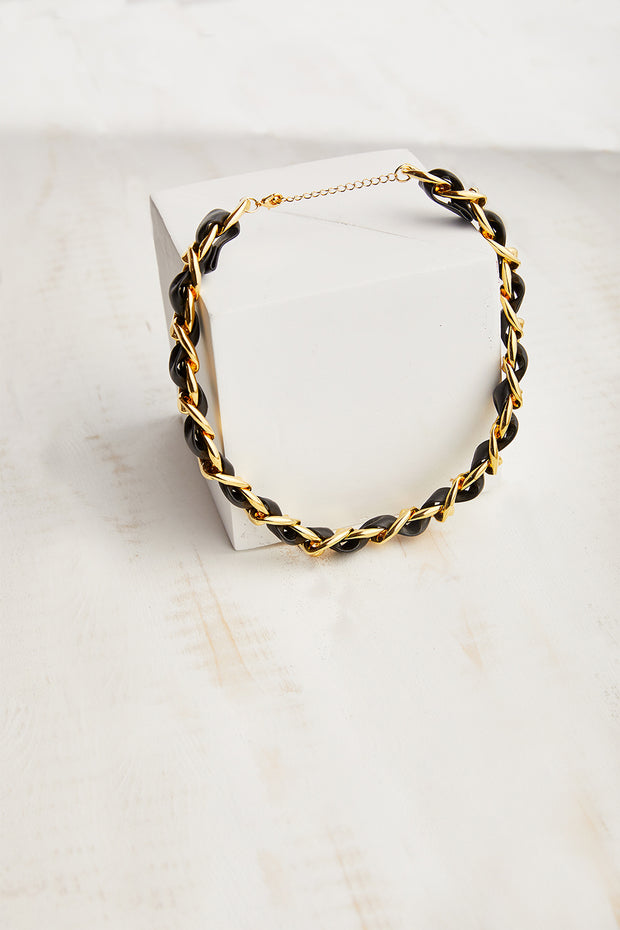 Braided Choker Necklace