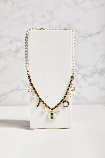 Iconic Charm Pearl Necklace