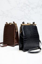Croc Phone Holder Bag