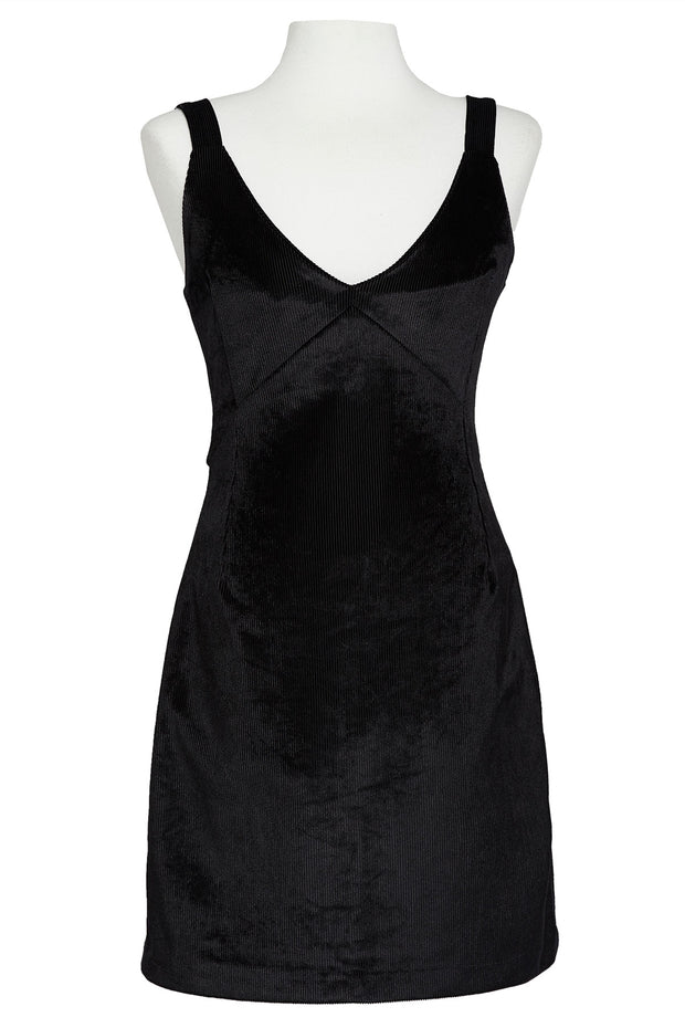 Helga Velvet V-neck Dress