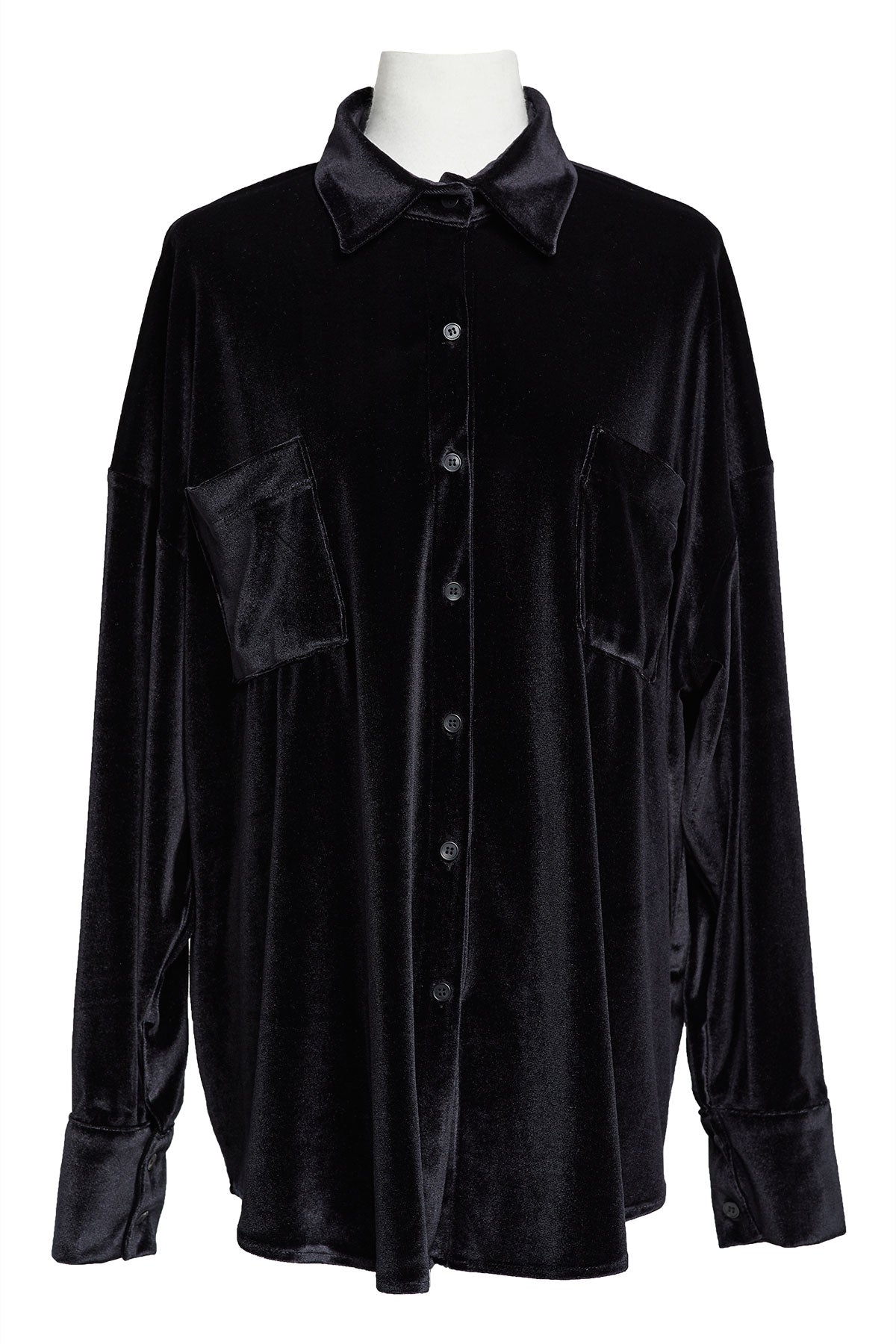 Yena Velvet Shirt-2 Colors