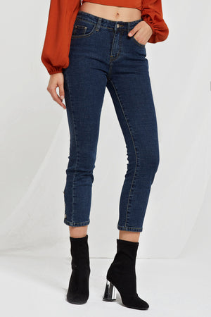 Libby Buttoned Jeans