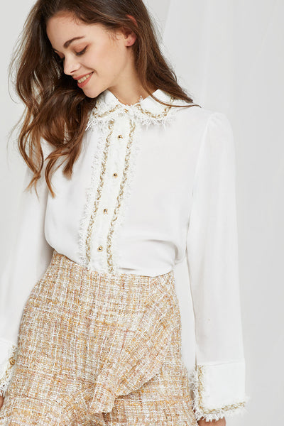 Rita Embroidered Blouse
