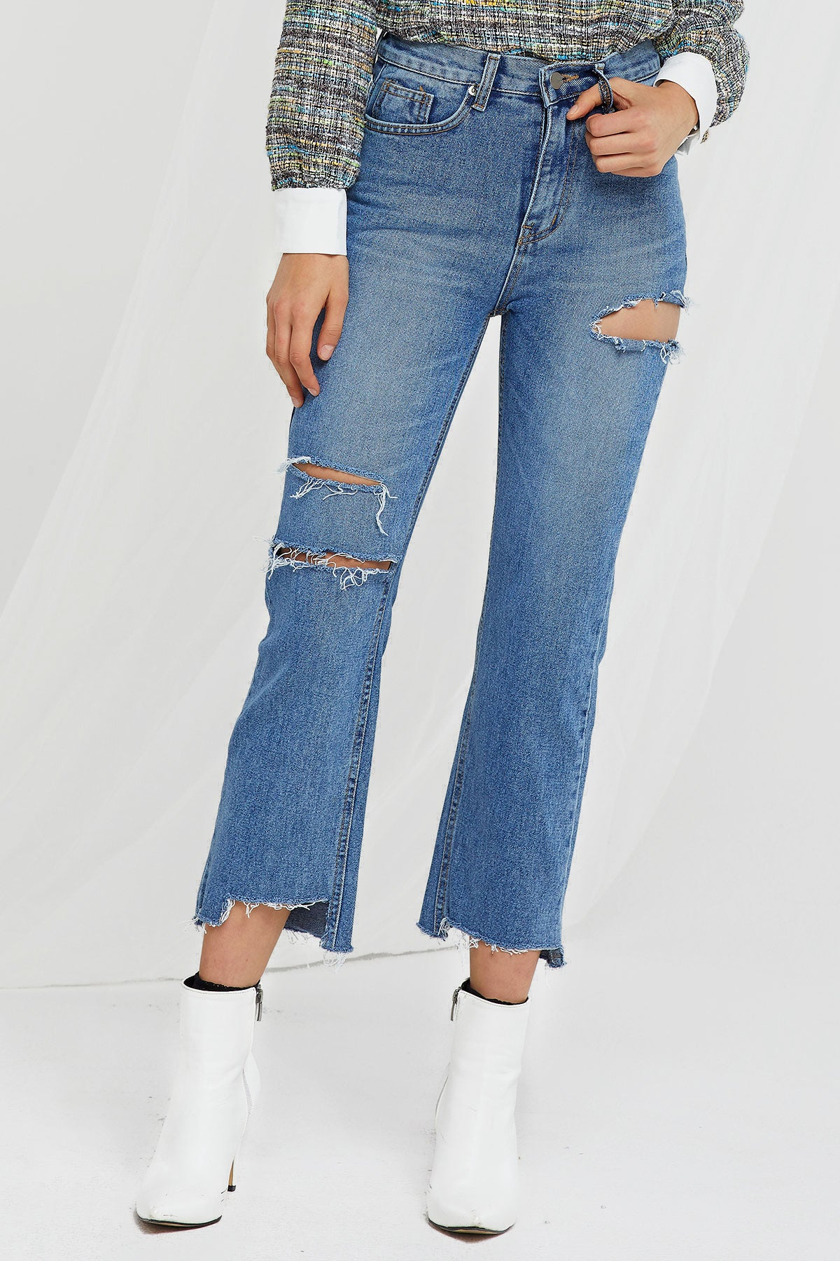 Didi Ripped Jeans