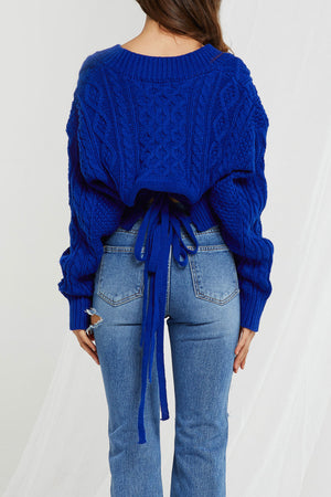 Emily Tied Sweater (Pre-Order)