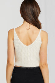Lily Strappy Knit Top-2 Colors