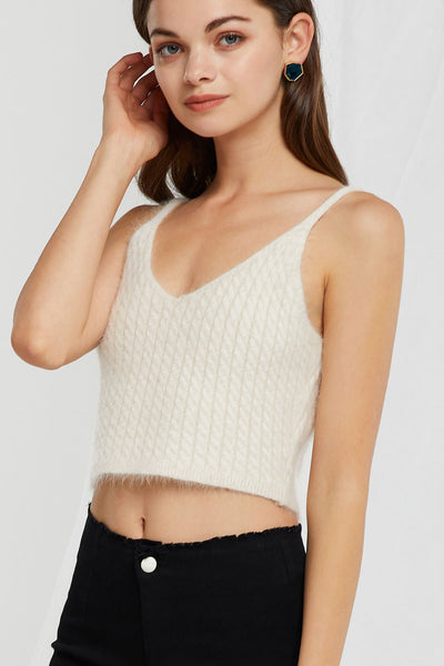 Lily Strappy Knit Top