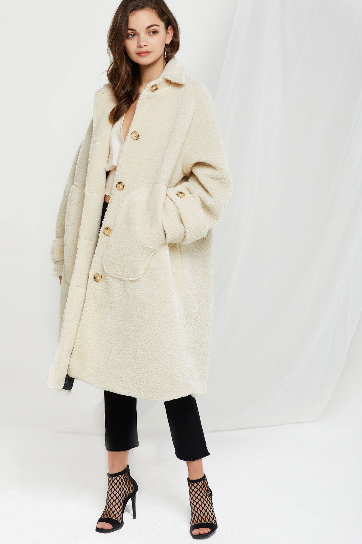 Olivia Boucle Rounded Coat (Pre-Order)