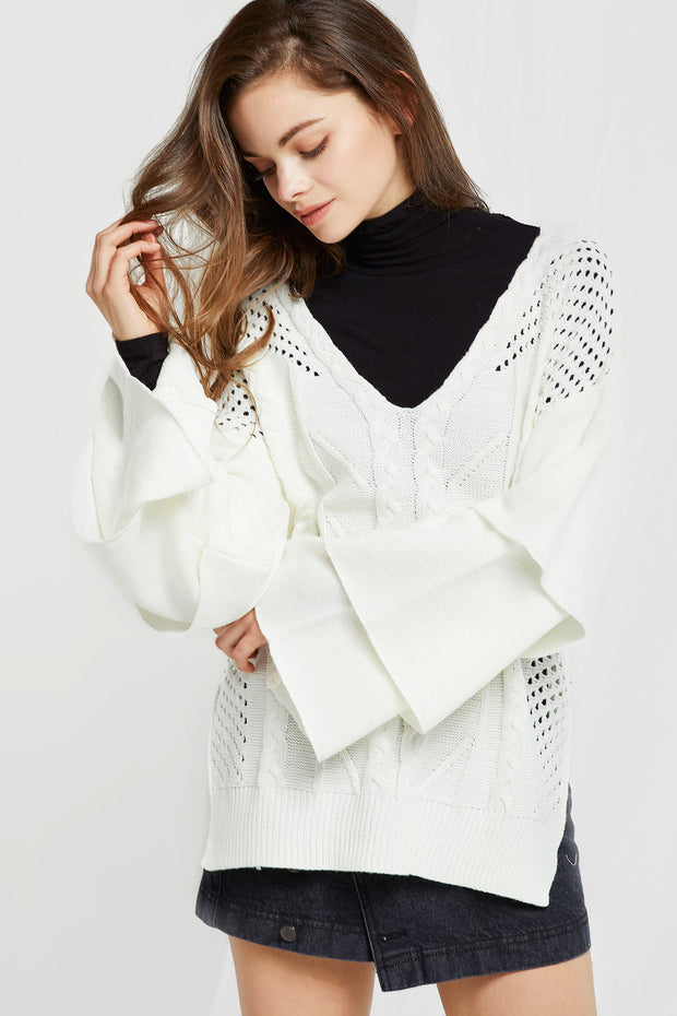 Eliana Textured Knit Sweater