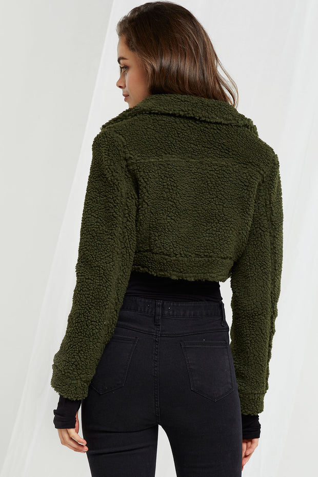 storets.com Katrina Cropped Teddy Jacket-3 Colors