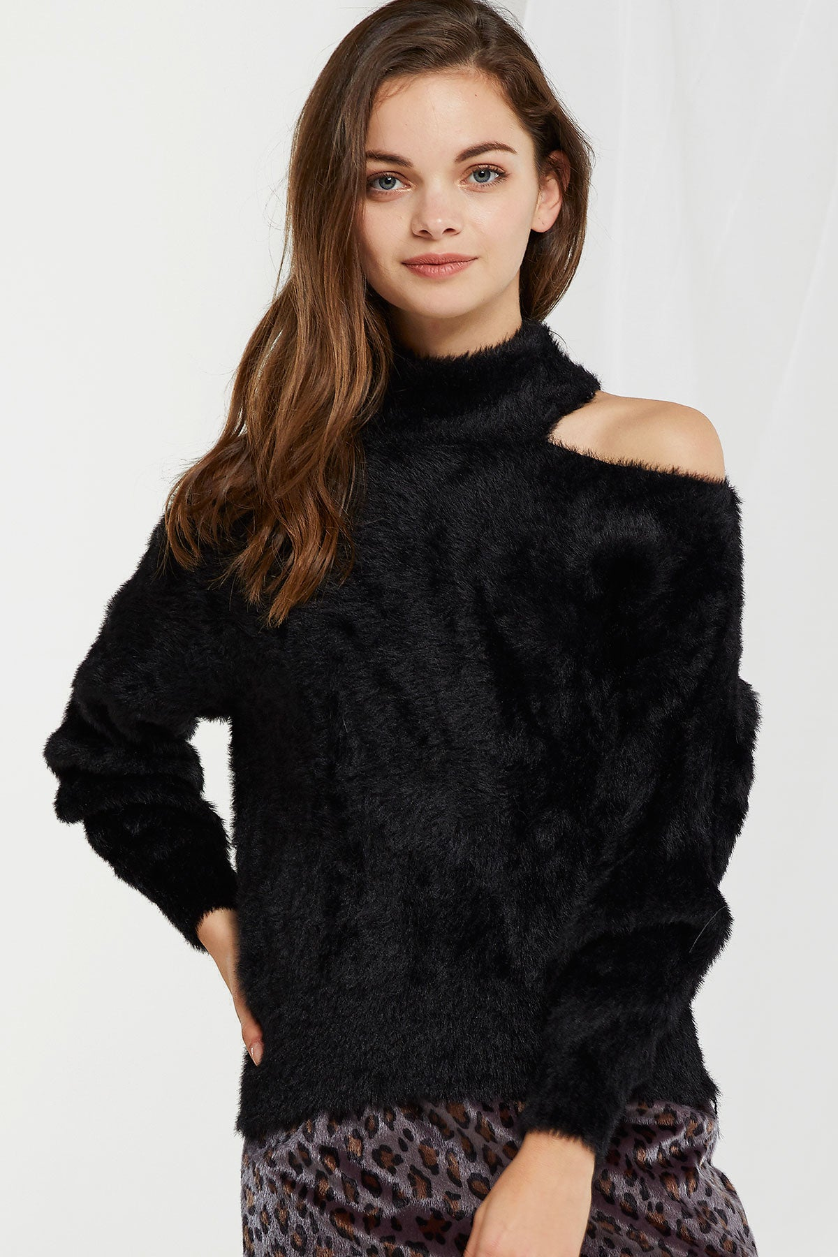 Dani Soft High Neck Sweater (Pre-Order)