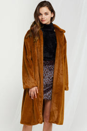 Lisa Relaxed Fur Coat