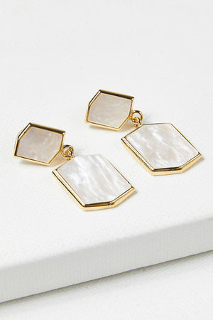Hexagon Panes Earrings
