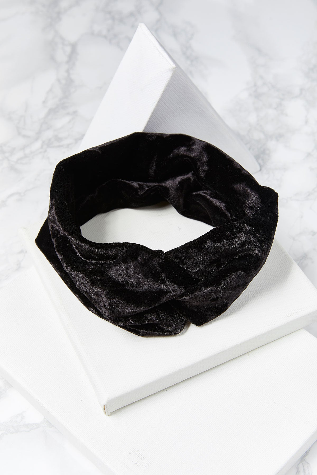 Velvet Twisted Hair Wrap