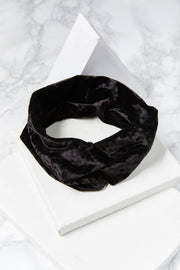 storets.com Velvet Twisted Hair Wrap-3 Colors