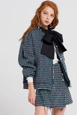 Helen Oversized Tweed Jacket