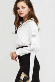 Alana Buttoned String Blouse-2 Colors