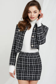 Karina Bouclé Tweed Set