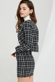 storets.com Karina Bouclé Tweed Set