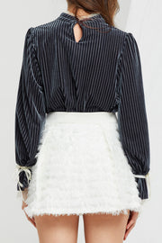 Albina Feathered Skirt