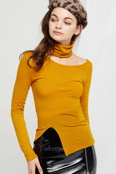 Sabrina Cutout Turtleneck