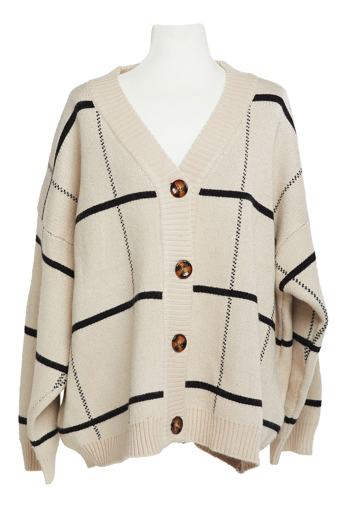 Alexandra Buttoned Cardigan-2 Colors