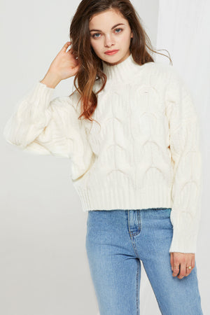 Alecia Cable Knit Sweater