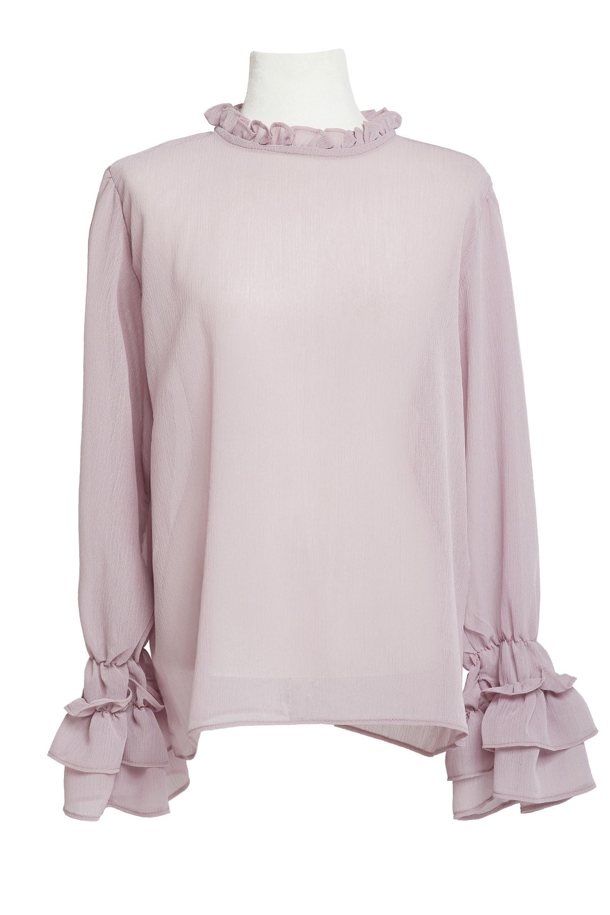 Alaina Ruffle Blouse-2 Colors