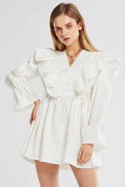 Olivia Ruffle Tunic Dress