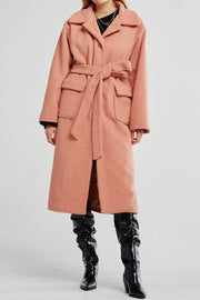 Eleanor Wide Collar Long Coat