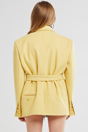 Louna Oversize Belted Jacket
