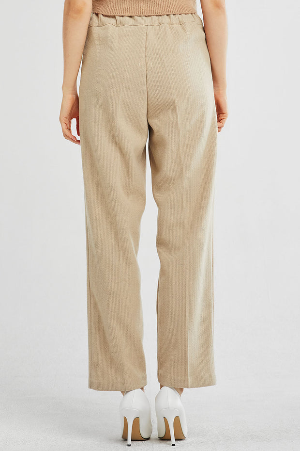 Vivian Textured Pintuck Pants