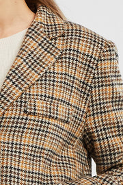 Layla Oversized Plaid Blazer