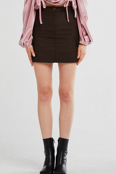 Sophie Utility Pocket Skirt