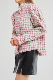 Genesis Oversized Tweed Shirt Jacket