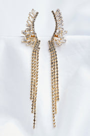Goddess Chain Drop Earrings